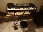 Keyboard Yamaha PSR 350 + Hocker
